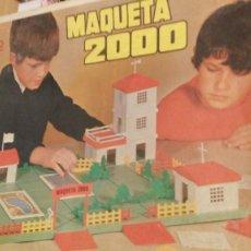 Juguetes antiguos Rico: RICO JUEGO CONSTRUCCIÓN MAQUETA 2000 AÑOS 60. Lote 125473207