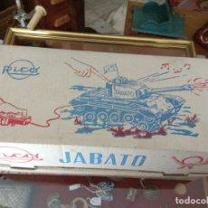 Juguetes antiguos Rico: TANQUE JABATO DE RICO. Lote 126467827