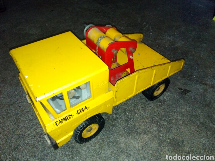 Juguetes antiguos Rico: Camion grua rico - Foto 4 - 127437119