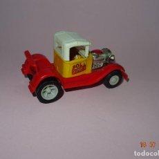 Brinquedos antigos Rico: ANTIGUO COCHE EN CHAPA PINTADA Y PLÁSTICO SERIE AUTOS LOCOS - SOL Y SOMBRA DE JUGUETES RICO. Lote 128374047