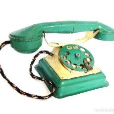 Juguetes antiguos Rico: TELÉFONO DE HOJALATA DE RICO. AÑOS 40. Lote 128477935