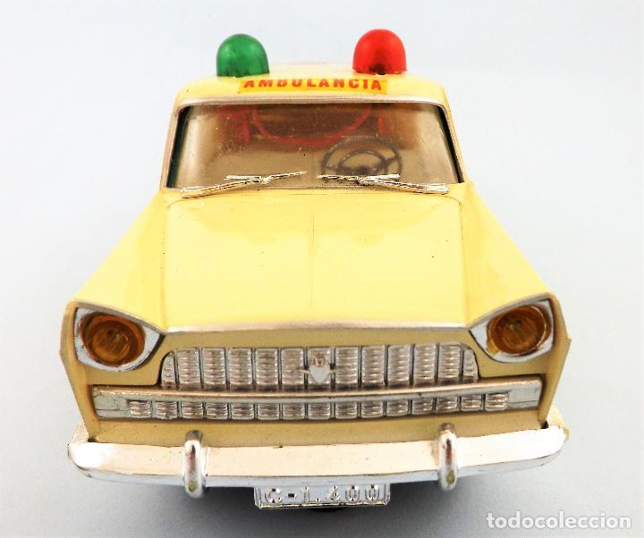 Juguetes antiguos Rico: Rico Seat 1400 Ambulancia Cruz Roja Caja Arte - Foto 2 - 130047967