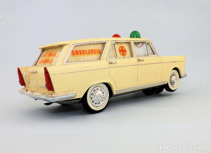 Juguetes antiguos Rico: Rico Seat 1400 Ambulancia Cruz Roja Caja Arte - Foto 3 - 130047967
