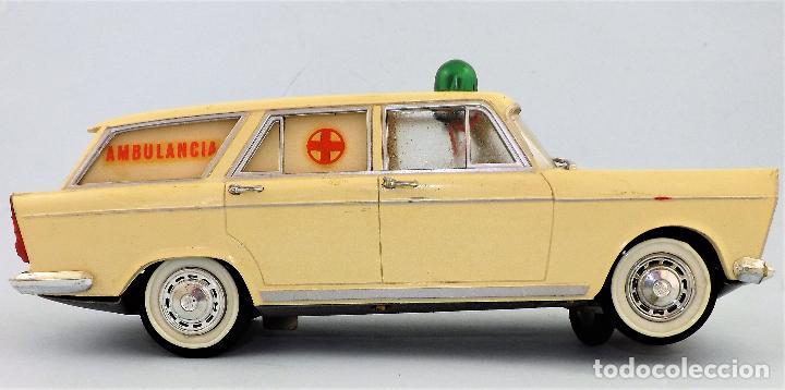 Juguetes antiguos Rico: Rico Seat 1400 Ambulancia Cruz Roja Caja Arte - Foto 4 - 130047967