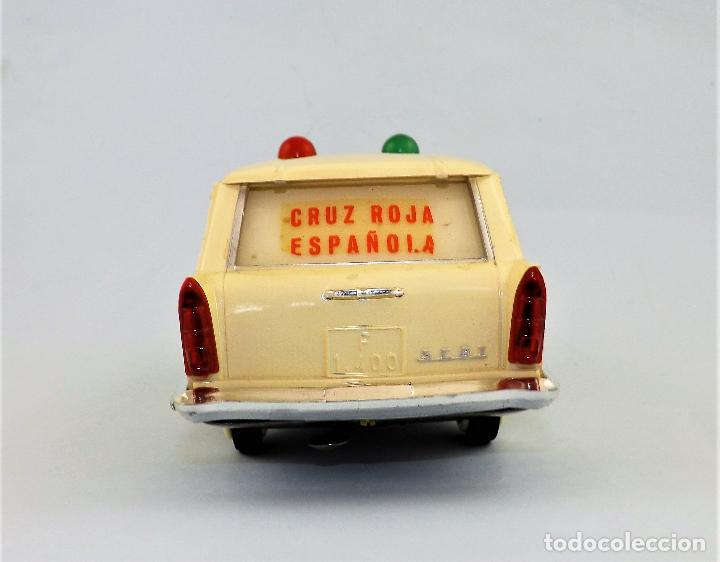 Juguetes antiguos Rico: Rico Seat 1400 Ambulancia Cruz Roja Caja Arte - Foto 5 - 130047967