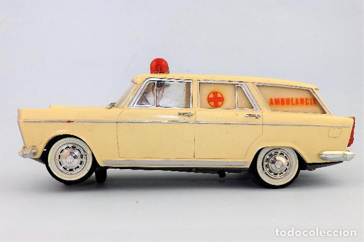 Juguetes antiguos Rico: Rico Seat 1400 Ambulancia Cruz Roja Caja Arte - Foto 6 - 130047967