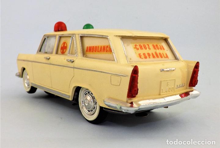 Juguetes antiguos Rico: Rico Seat 1400 Ambulancia Cruz Roja Caja Arte - Foto 7 - 130047967