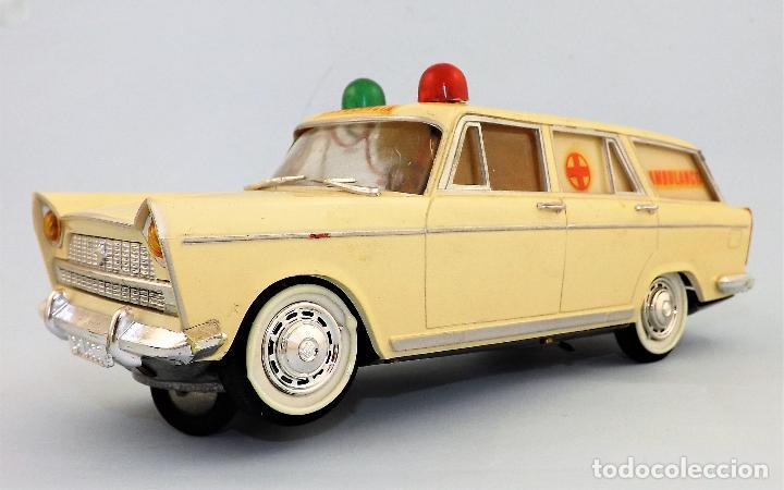 Juguetes antiguos Rico: Rico Seat 1400 Ambulancia Cruz Roja Caja Arte - Foto 8 - 130047967