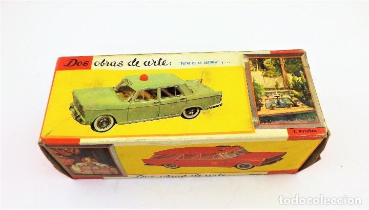 Juguetes antiguos Rico: Rico Seat 1400 Ambulancia Cruz Roja Caja Arte - Foto 11 - 130047967