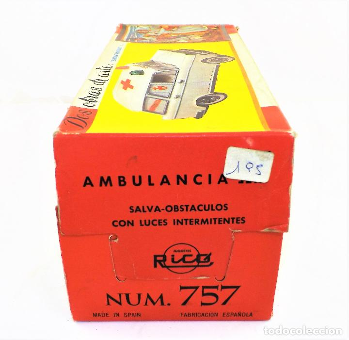 Juguetes antiguos Rico: Rico Seat 1400 Ambulancia Cruz Roja Caja Arte - Foto 14 - 130047967