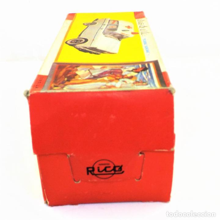 Juguetes antiguos Rico: Rico Seat 1400 Ambulancia Cruz Roja Caja Arte - Foto 15 - 130047967