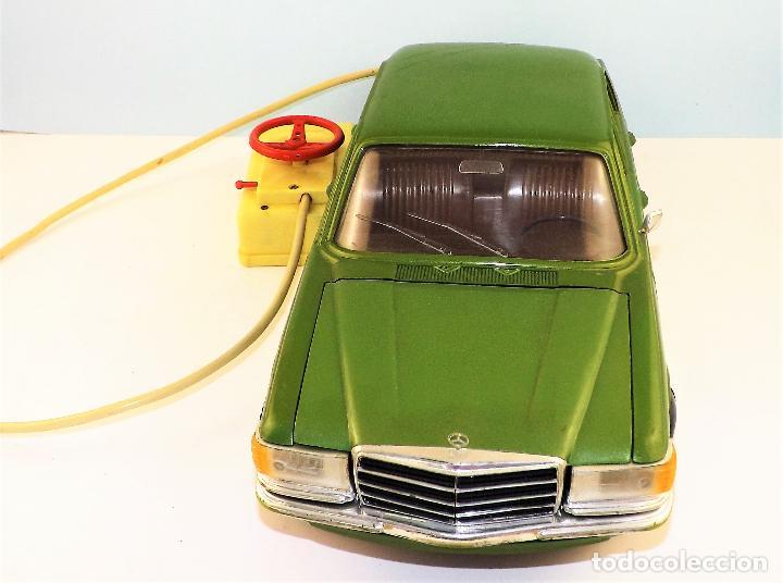 Juguetes antiguos Rico: Rico Mercedes 450 se Cabledirigido - Foto 3 - 130156307