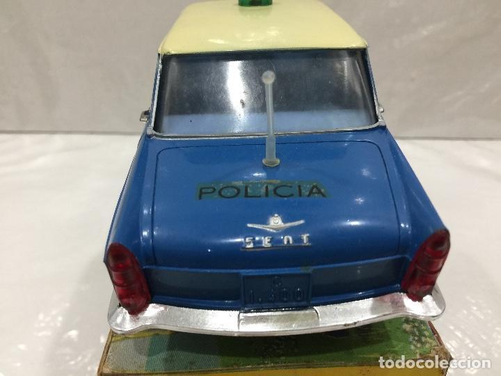 Juguetes antiguos Rico: RICO SEAT 1400C SEAT 1500 VERSION POLICIA ESCALA 1/20 - Foto 5 - 132661354