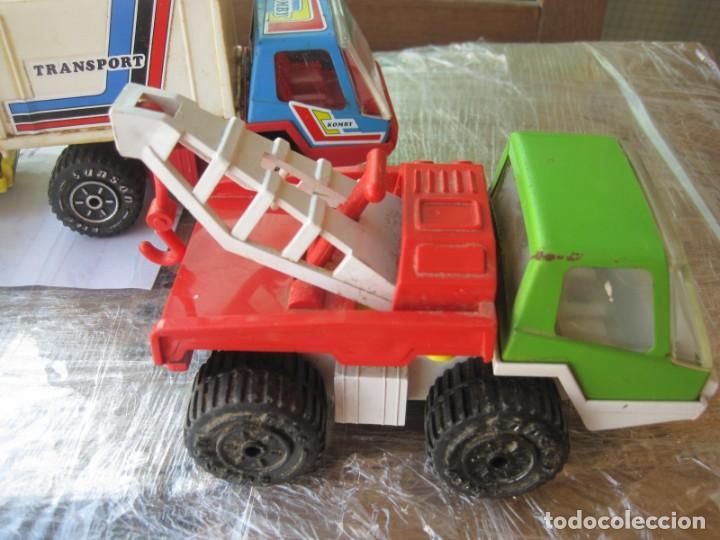 Juguetes antiguos Rico: 4 camiones pegaso de rico - Foto 2 - 132790614