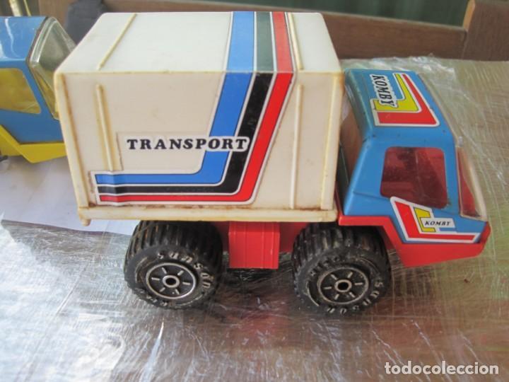 Juguetes antiguos Rico: 4 camiones pegaso de rico - Foto 4 - 132790614