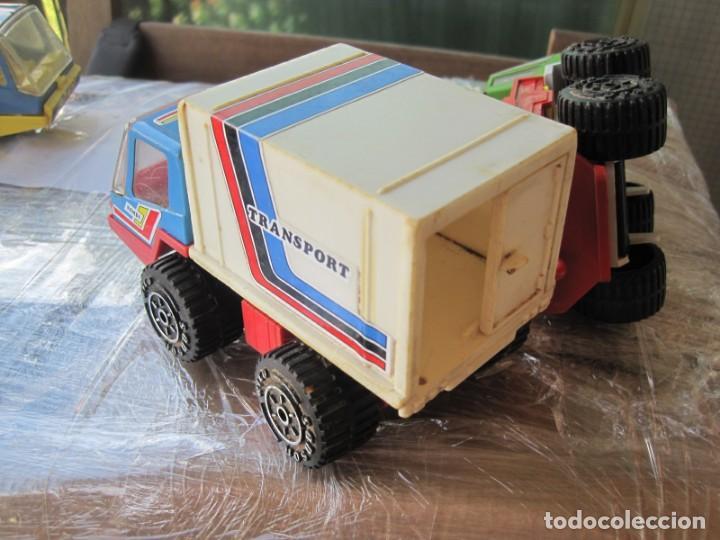 Juguetes antiguos Rico: 4 camiones pegaso de rico - Foto 5 - 132790614