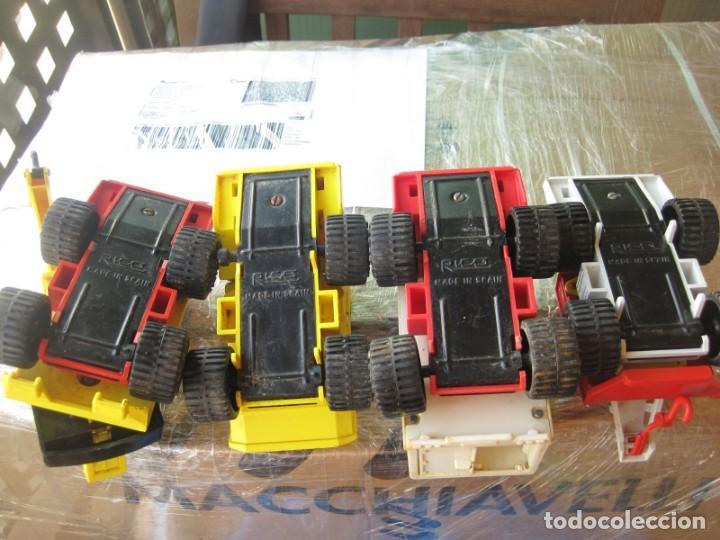 Juguetes antiguos Rico: 4 camiones pegaso de rico - Foto 8 - 132790614