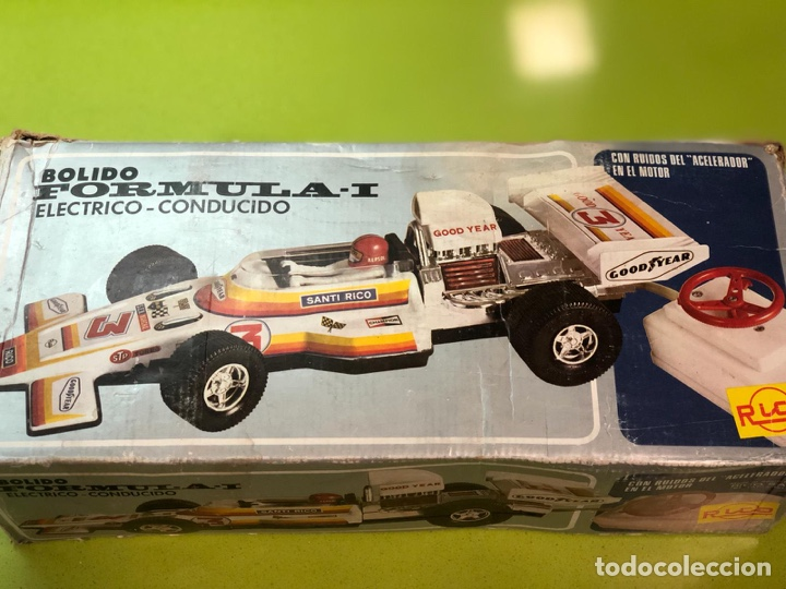 Juguetes antiguos Rico: Bólido carreras Rico, fórmula 1,sanchis,Paya,jyesa,nomura,guisval,coche carreras,juguete antiguo - Foto 5 - 133777689