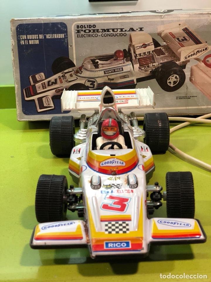 Juguetes antiguos Rico: Bólido carreras Rico, fórmula 1,sanchis,Paya,jyesa,nomura,guisval,coche carreras,juguete antiguo - Foto 9 - 133777689