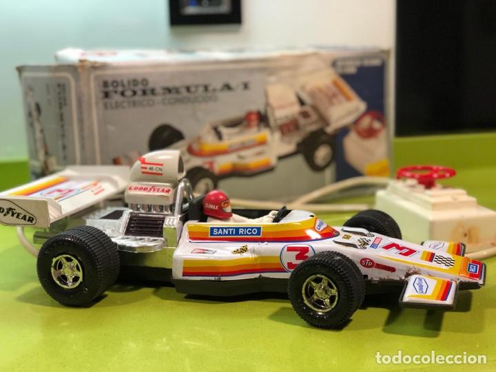 Juguetes antiguos Rico: Bólido carreras Rico, fórmula 1,sanchis,Paya,jyesa,nomura,guisval,coche carreras,juguete antiguo - Foto 10 - 133777689