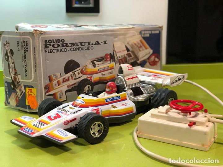 Juguetes antiguos Rico: Bólido carreras Rico, fórmula 1,sanchis,Paya,jyesa,nomura,guisval,coche carreras,juguete antiguo - Foto 11 - 133777689