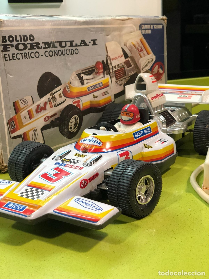 Juguetes antiguos Rico: Bólido carreras Rico, fórmula 1,sanchis,Paya,jyesa,nomura,guisval,coche carreras,juguete antiguo - Foto 12 - 133777689