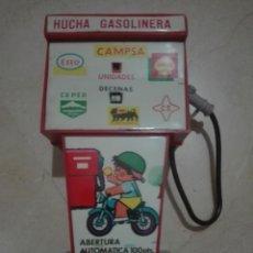 Juguetes antiguos Rico: ANTIGUA HUCHA GASOLINERA DE RICO. Lote 135363754