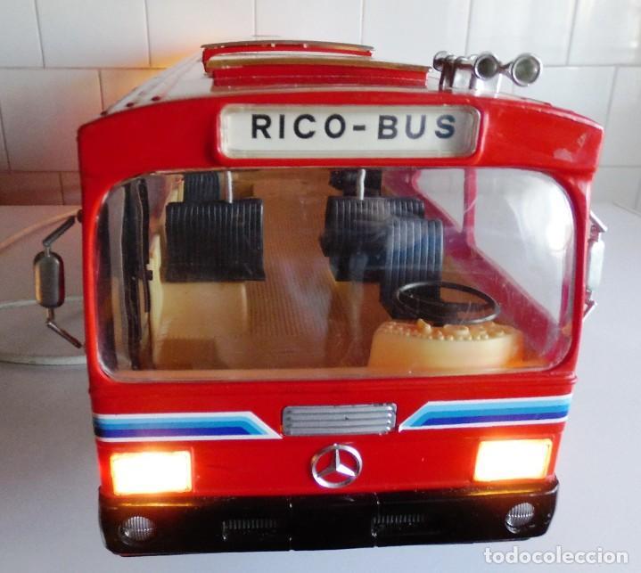 Juguetes antiguos Rico: AUTOBUS RICO BUS MERCEDES RICOBUS AUTOBUS RICO BUS - Foto 22 - 136541202