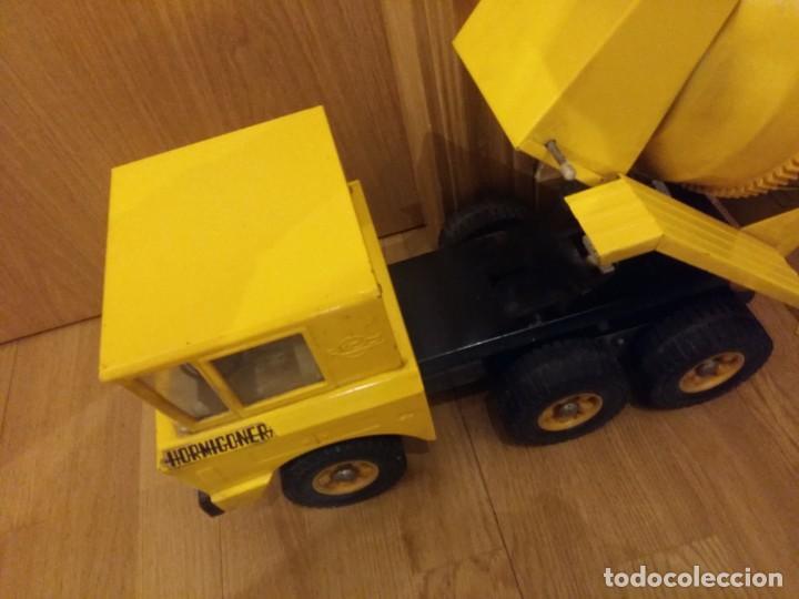Juguetes antiguos Rico: Camión hormigonera Sanson,grande - Foto 2 - 144057870
