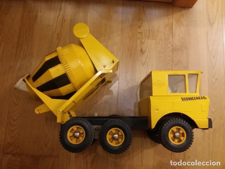 Juguetes antiguos Rico: Camión hormigonera Sanson,grande - Foto 5 - 144057870