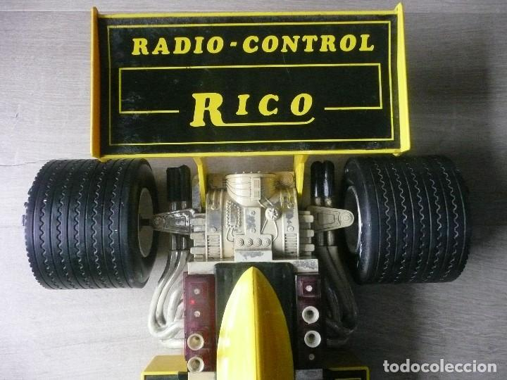 Juguetes antiguos Rico: RICO-GRAN BOLIDO / COCHE CARRERAS RADIO CONTROL DE RICO - Foto 3 - 139657434