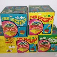 Juguetes antiguos Rico: 5 TORRES GIROSCOPICAS, DE RICO.. Lote 140218714