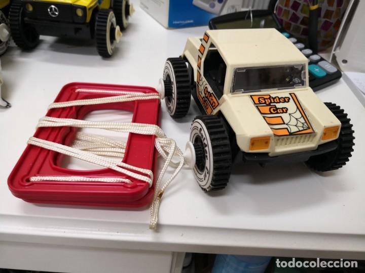 COCHE RICO AÑOS 80 AUTOS LOCOS REFERENCIA 70 SPIDER CAR CHEETAH. CON CUERDA (Juguetes - Marcas Clásicas - Rico)