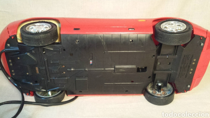 Juguetes antiguos Rico: Coche cabledirigido Rico Porsche 928 - Foto 4 - 142841969