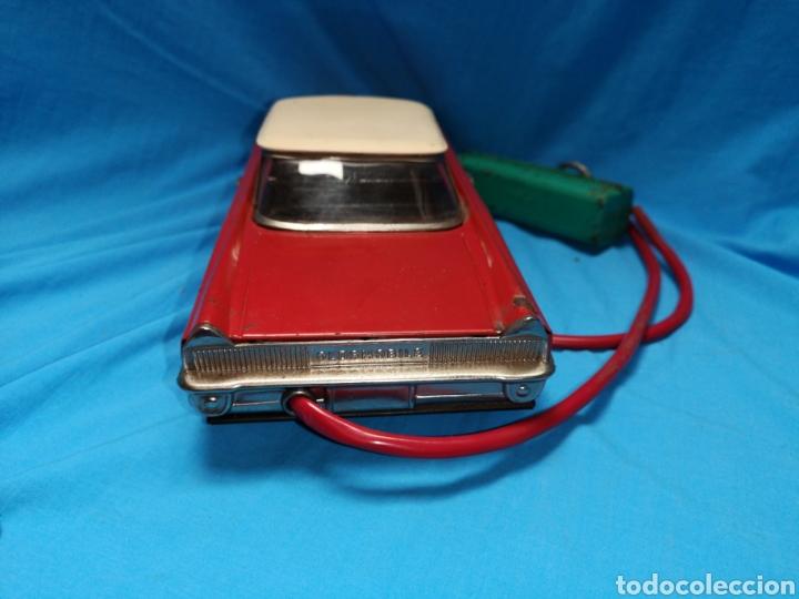 Juguetes antiguos Rico: Precioso coche Oldsmobile de rico cabledirigido. No funciona. Todo metálico. Hojalata. rojo. Años 60 - Foto 10 - 143180788