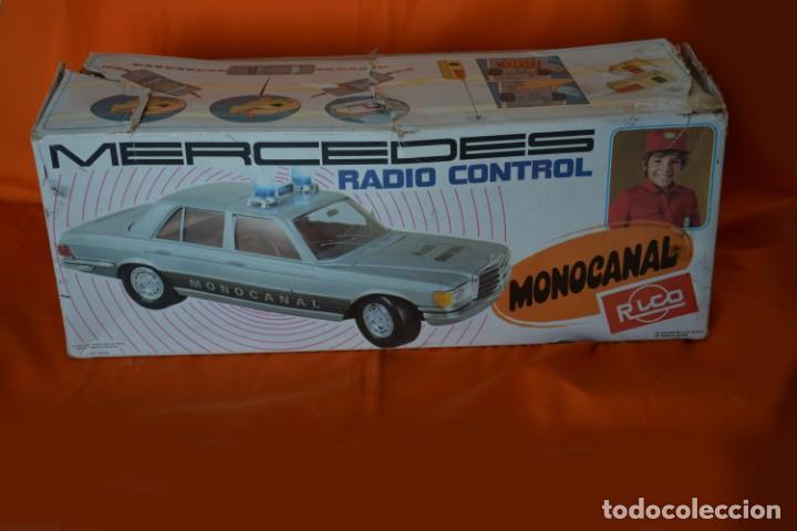 Juguetes antiguos Rico: RICO MERCEDES MONOCANAL RADIO CONTROL REF 150 - Foto 2 - 144736414