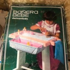 Juguetes antiguos Rico: BAÑERA BEBE JUGUETES RICO. Lote 144985586