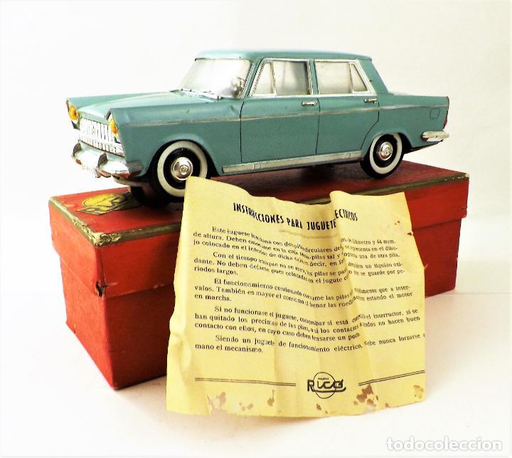 Juguetes antiguos Rico: Rico Seat 1400 C color turquesa. Primera edición - Foto 2 - 146230650