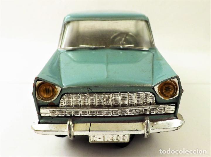 Juguetes antiguos Rico: Rico Seat 1400 C color turquesa. Primera edición - Foto 4 - 146230650