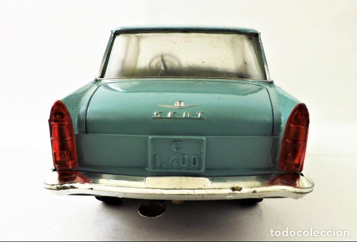 Juguetes antiguos Rico: Rico Seat 1400 C color turquesa. Primera edición - Foto 8 - 146230650