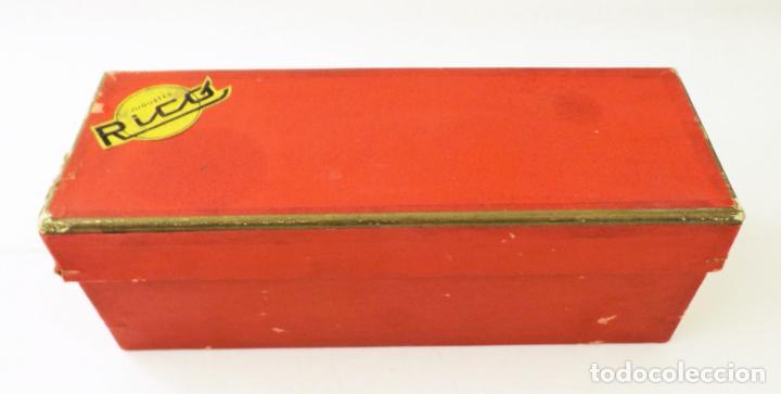 Juguetes antiguos Rico: Rico Seat 1400 C color turquesa. Primera edición - Foto 13 - 146230650
