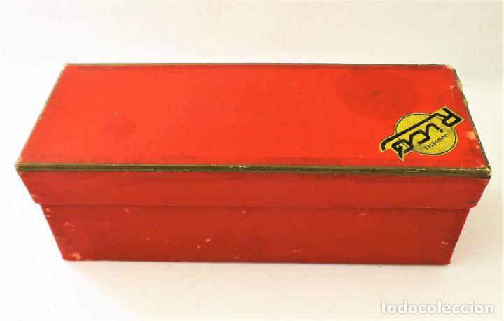 Juguetes antiguos Rico: Rico Seat 1400 C color turquesa. Primera edición - Foto 15 - 146230650