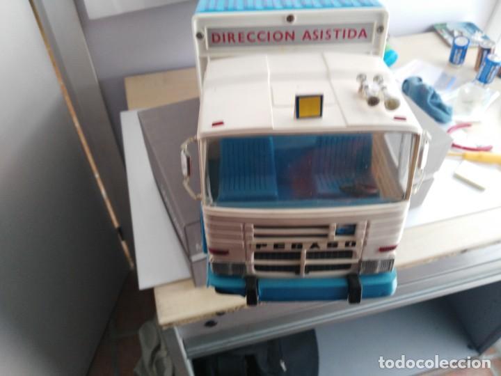 Juguetes antiguos Rico: ANTIGUO CAMION PEGASO DE RICO TRANSINTER - Foto 10 - 147223678