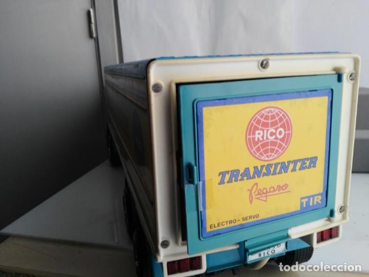 Juguetes antiguos Rico: ANTIGUO CAMION PEGASO DE RICO TRANSINTER - Foto 15 - 147223678