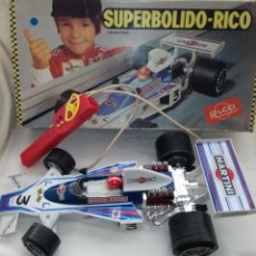 Juguetes antiguos Rico: ANTIGUO SUPERBOLIDO F.1 DE RICO.. Lote 148465465