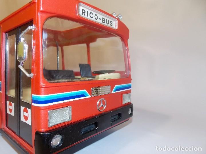 Juguetes antiguos Rico: AUTOBUS BUS RICO RICOBUS COLOR ROJO MERCEDES - Foto 7 - 148469250