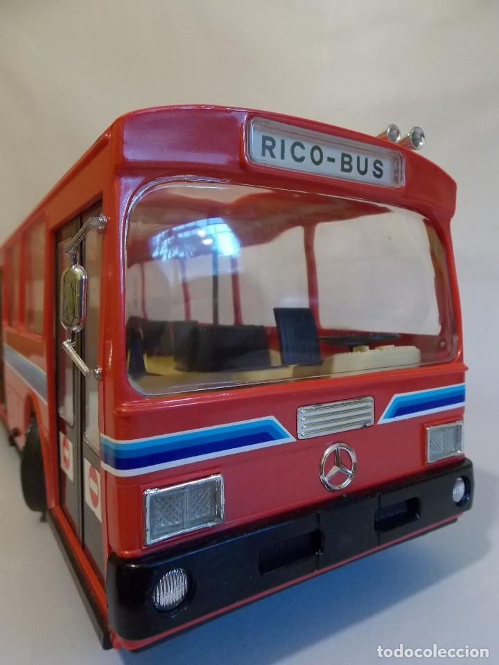 Juguetes antiguos Rico: AUTOBUS BUS RICO RICOBUS COLOR ROJO MERCEDES - Foto 8 - 148469250