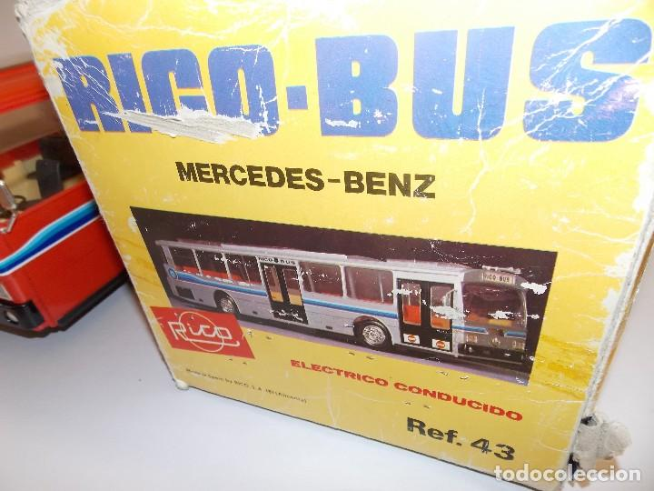 Juguetes antiguos Rico: AUTOBUS BUS RICO RICOBUS COLOR ROJO MERCEDES - Foto 17 - 148469250