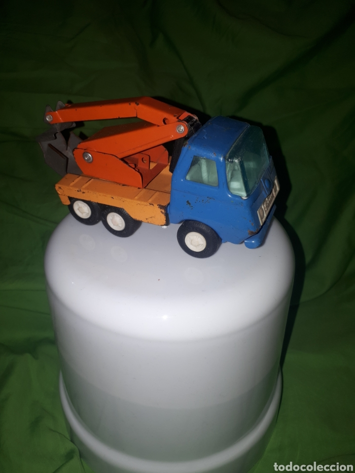 Juguetes antiguos Rico: Camion con grúa rico mini - Foto 2 - 150539145