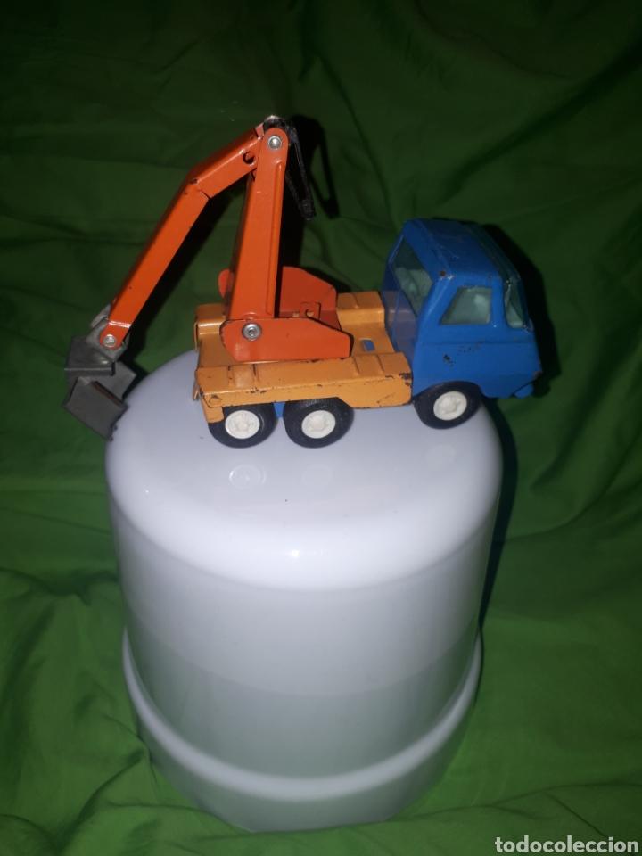 Juguetes antiguos Rico: Camion con grúa rico mini - Foto 3 - 150539145